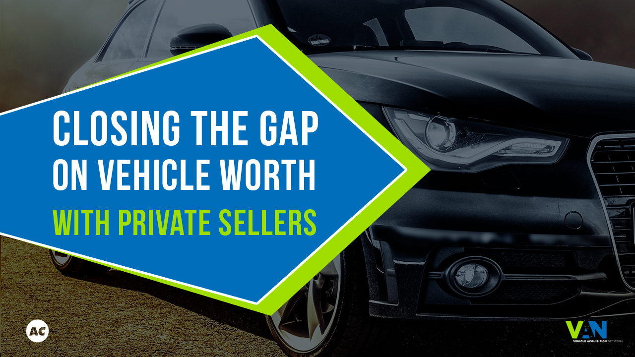 vehicle acquisition network | closing the gap in vehicle